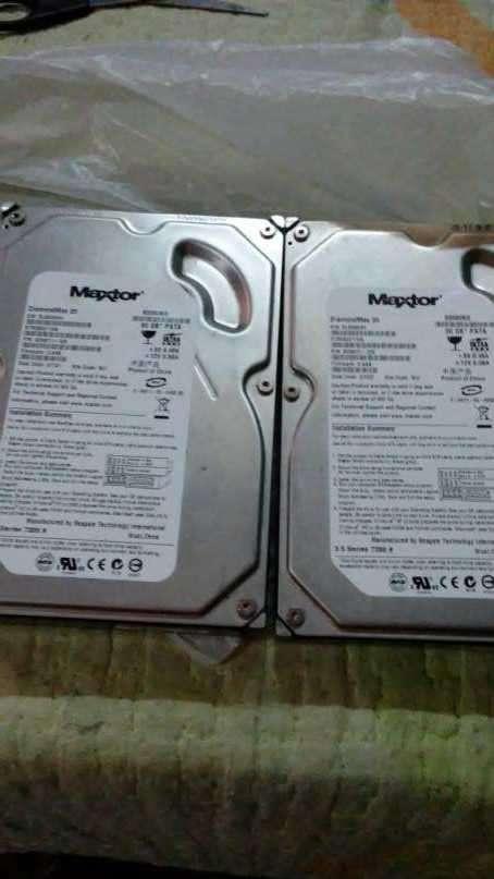 Disco duro IDE de 80 gb Maxtor - 1