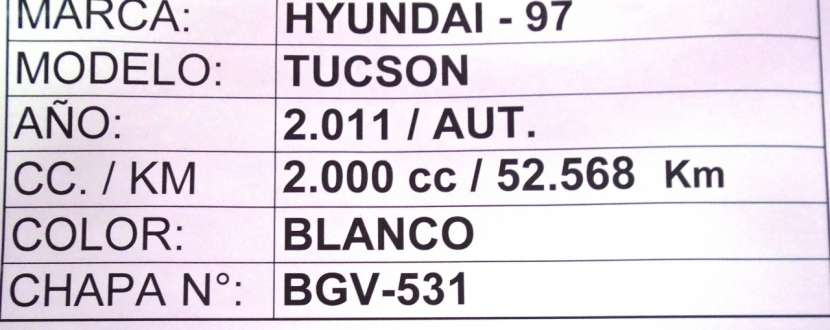 Hyundai Tucson 2011 blanco - 8