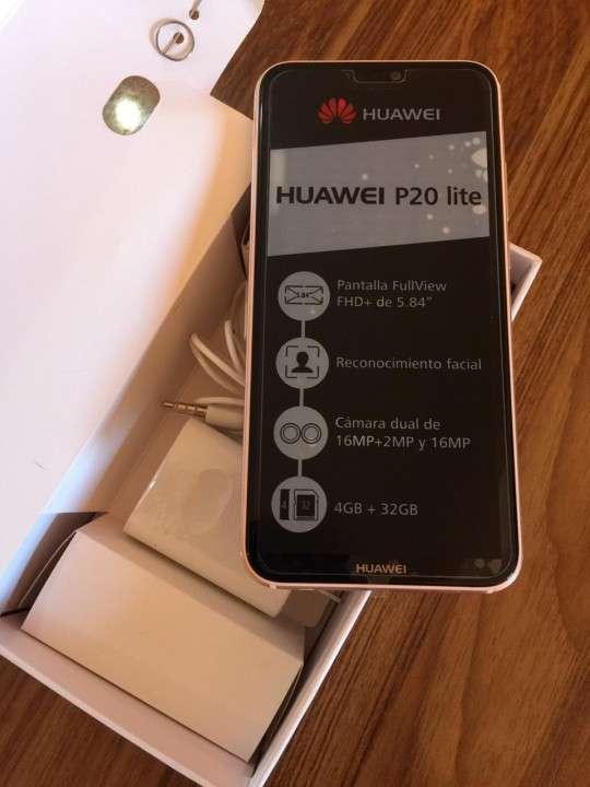 Huawei P20 Lite Rosa - 4