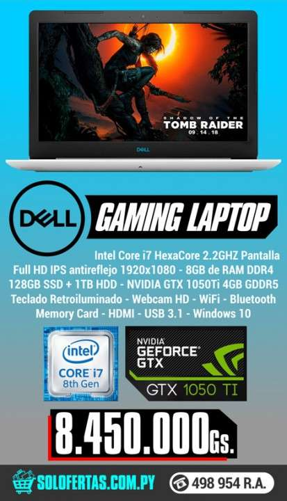 Notebook Dell Gaming