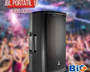Caja acústica JBL con bluetooth 1615