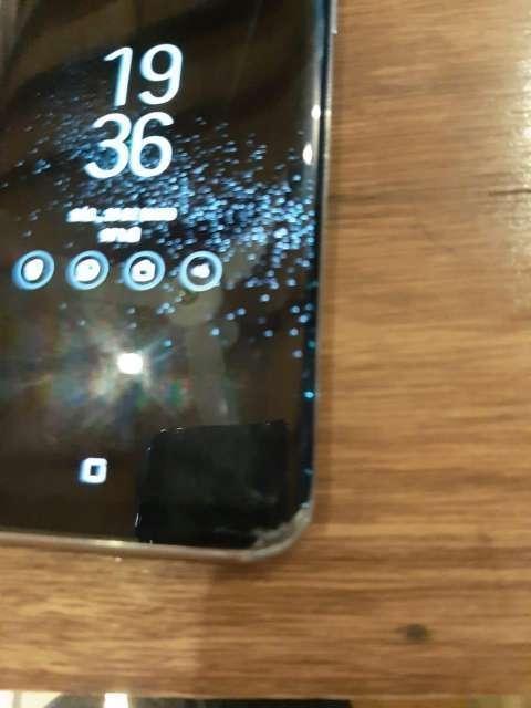 Samsung Galaxy S8 fisurado - 4
