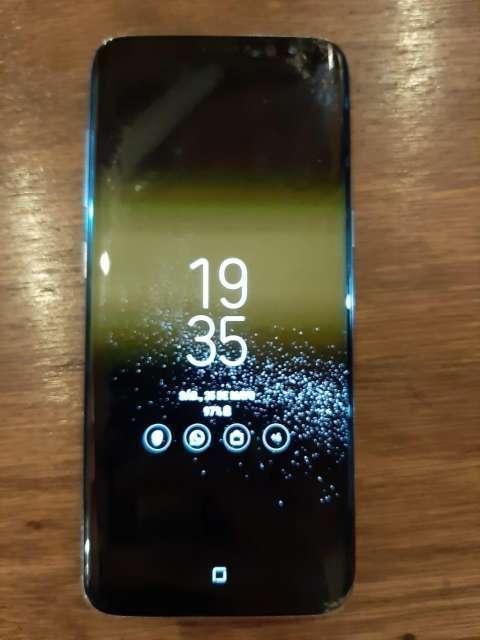 Samsung Galaxy S8 fisurado - 5