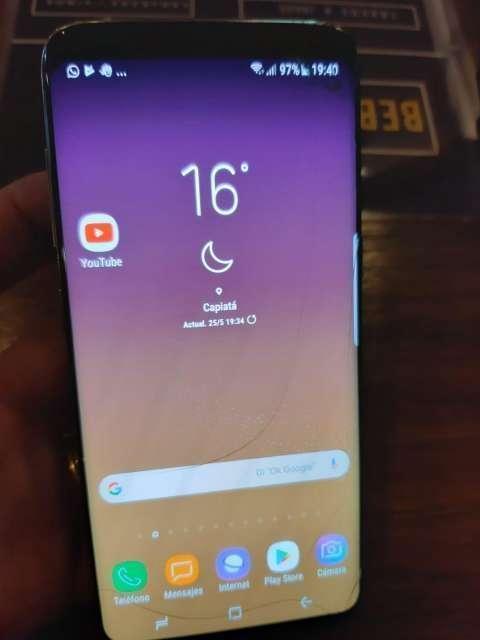 Samsung Galaxy S8 fisurado - 6