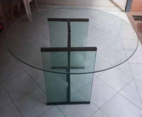 Mesa de blindex