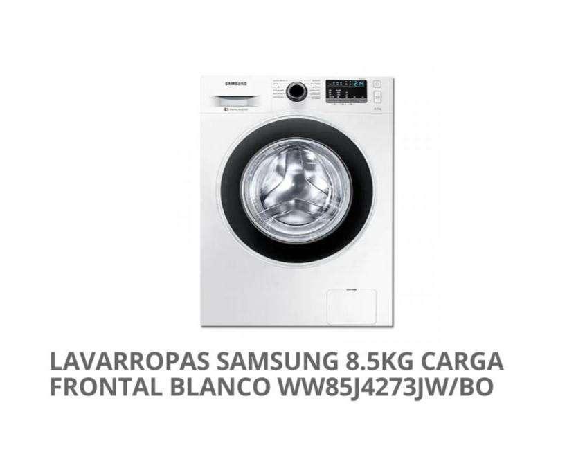 Lavarropa automática Samsung de 8.5 kg nuevo - 0