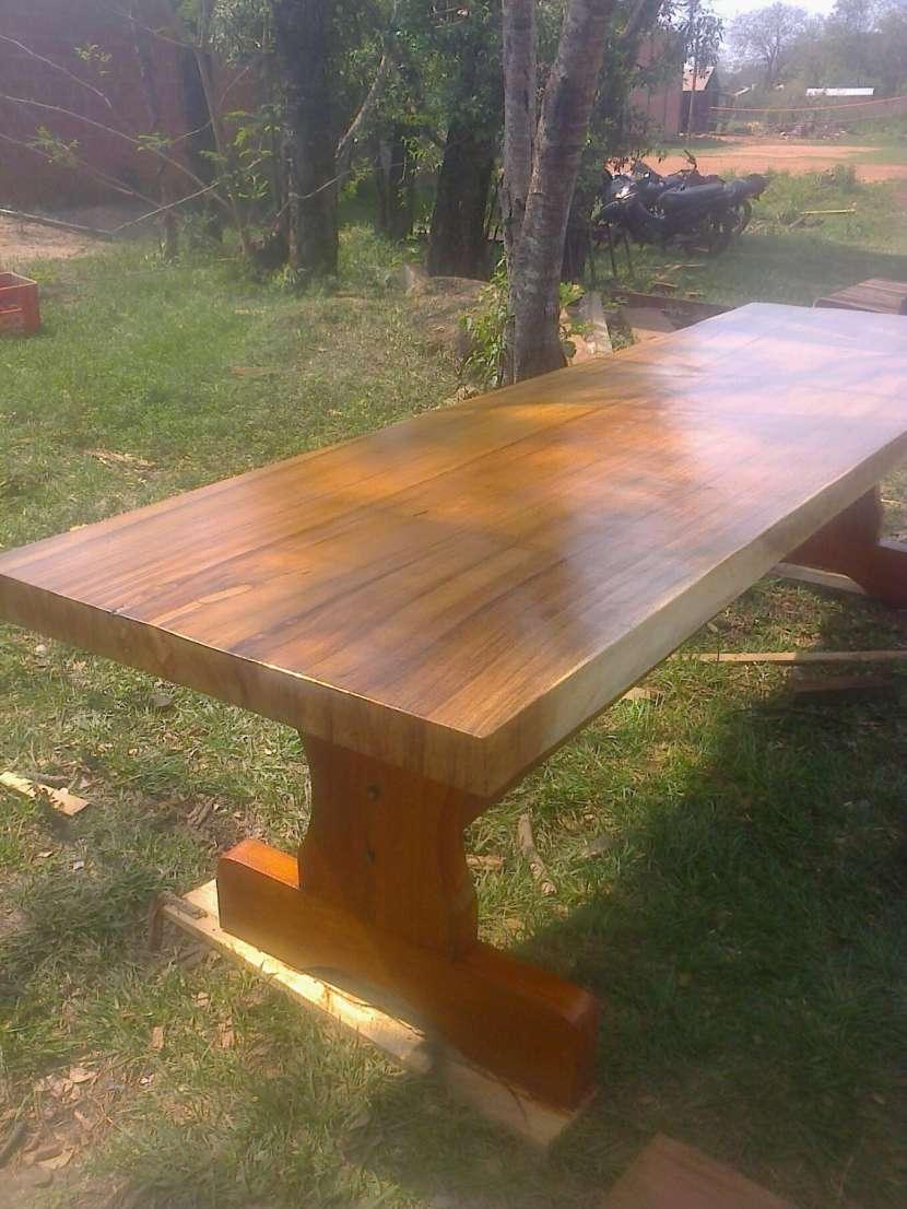 Muebles rústicos de madera - 0