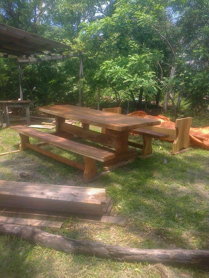 Muebles rústicos de madera - 1