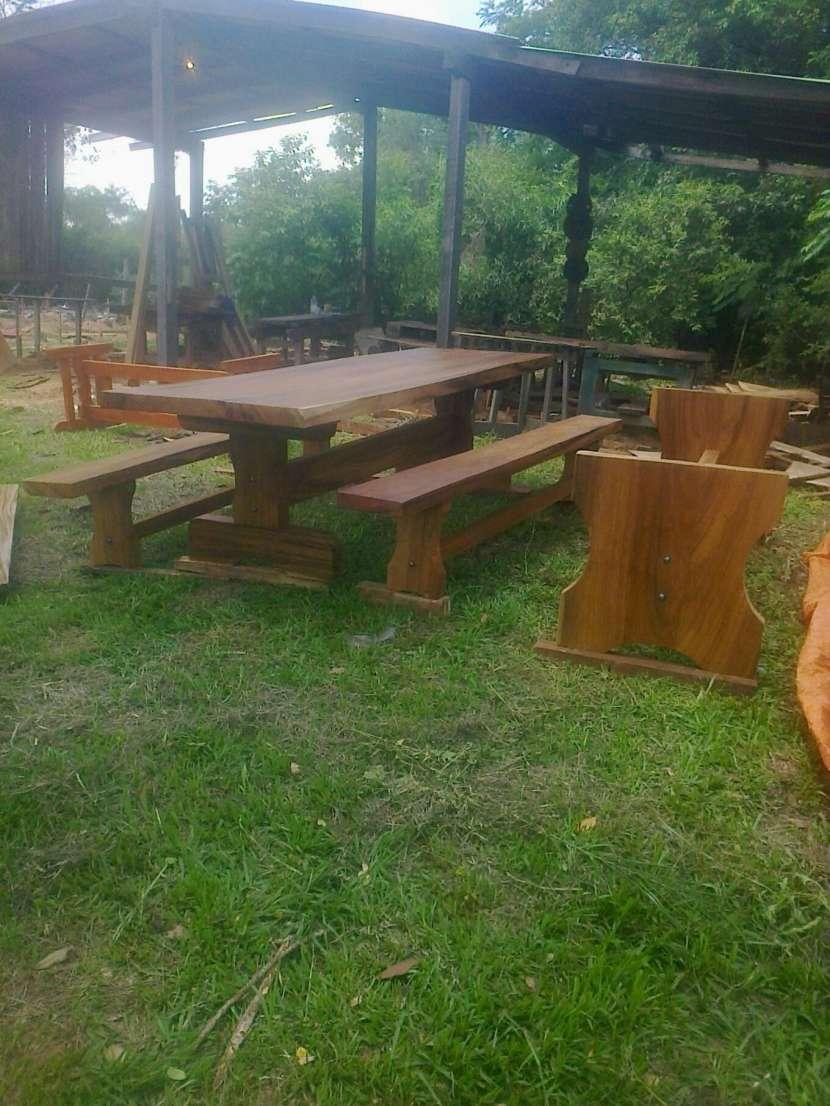 Muebles rústicos de madera - 2