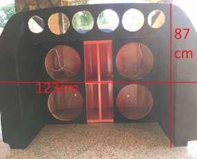 Caja de sonido vacia