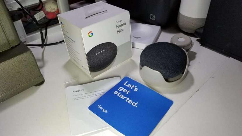 Google Home Mini con base - 0