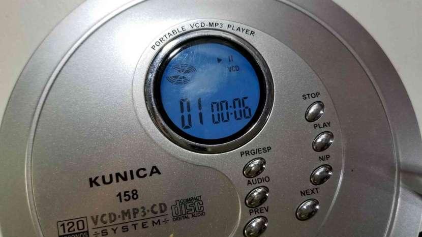 Reproductor de Discos MP3 y VCD Kunica - 7