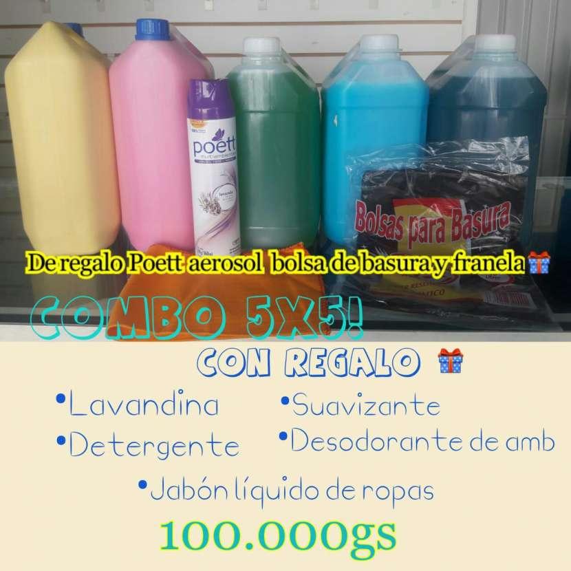 Combo de productos de limpieza - 0