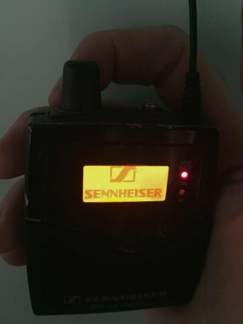 Micrófono Inalámbrico Monitor Sennheiser Ew 300 iem g3 - 3