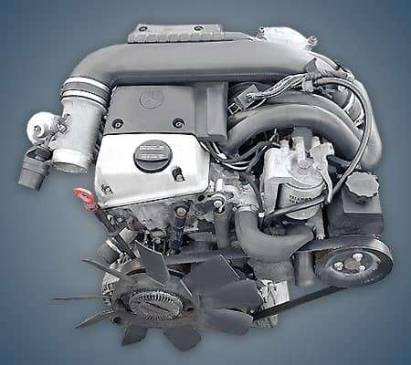 Motores Mercedes Benz - 1