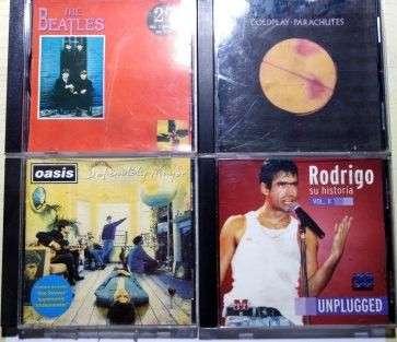 9 CDs de música - 0