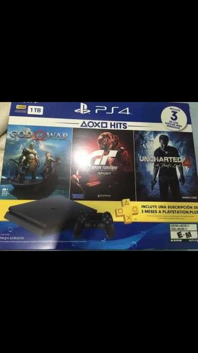 PS4 1tb semi nuevo - 1