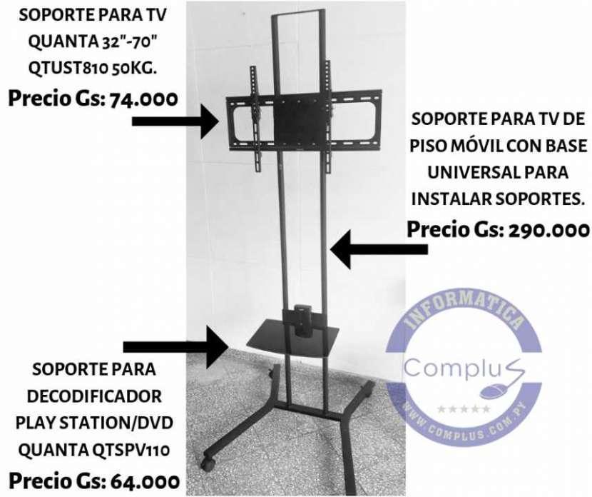 Soporte de piso móvil para tv 2 metos, con ruedas , hasta 70 - 0