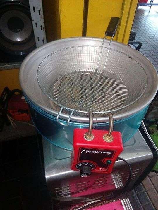 Freidora metalcubas 7 litros - 0