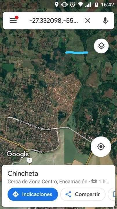 Terreno de 55.000 m2 en Encarnación - Itapúa - 2