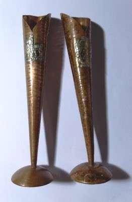 Dos copas de cobre - 0