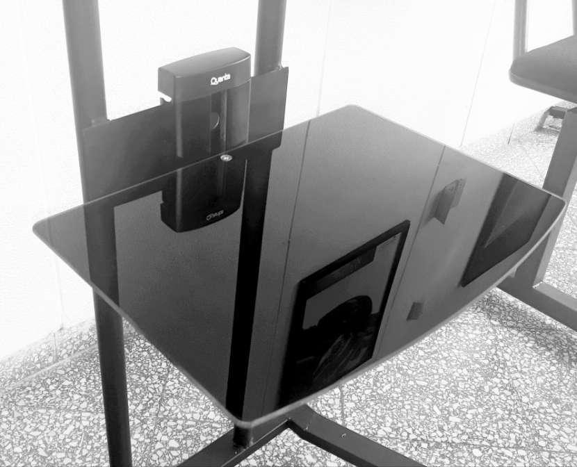Soporte de piso móvil para tv 2 metos, con ruedas , hasta 70 - 3