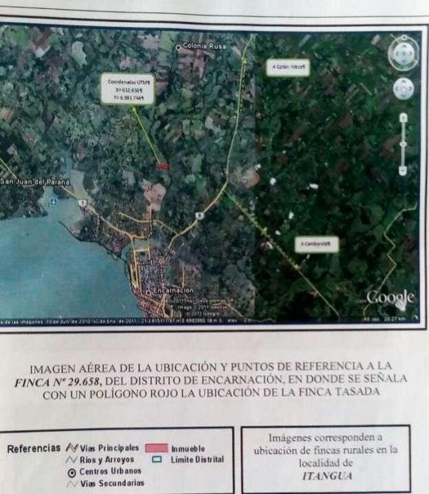 Terreno de 55.000 m2 en Encarnación - Itapúa - 1