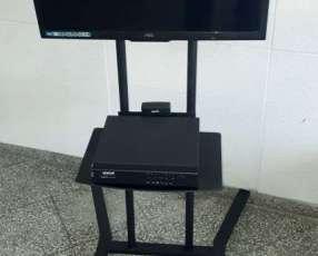 Soporte de piso móvil para tv 2 metros con ruedas