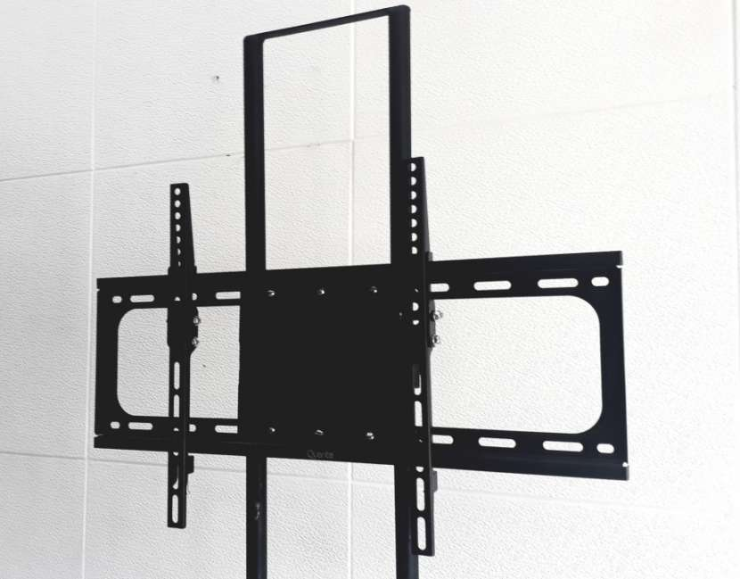 Soporte de piso móvil para tv 2 metros con ruedas - 5
