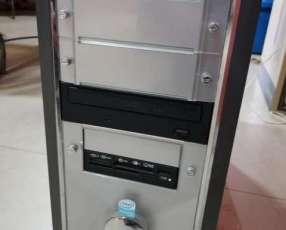 PC Intel Pentium Dual Core sin monitor y periféricos