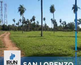 Terrenos en San Lorenzo
