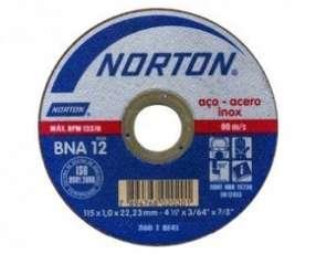 Disco de corte ultra fino Norton 115x0.8