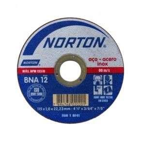 Disco de corte ultra fino Norton 115x0.8 - 0
