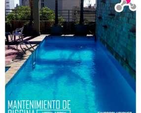 Servicio de mantenimiento preventivo de piscinas