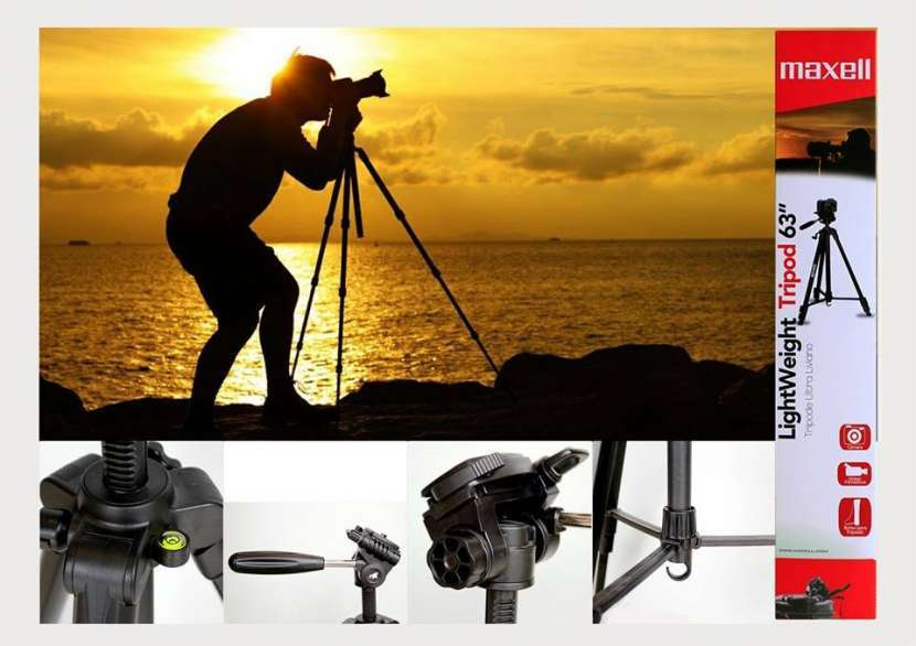 Trípode para cámara fotográfica Maxell - 0