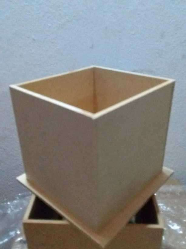 Cajitas de madera fibro fácil - 0