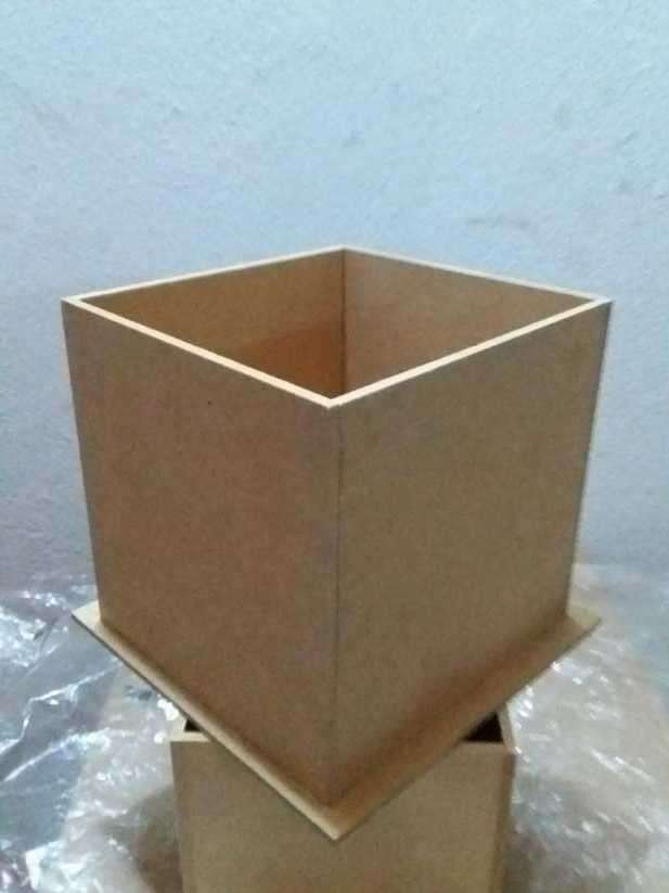 Cajitas de madera fibro fácil - 1