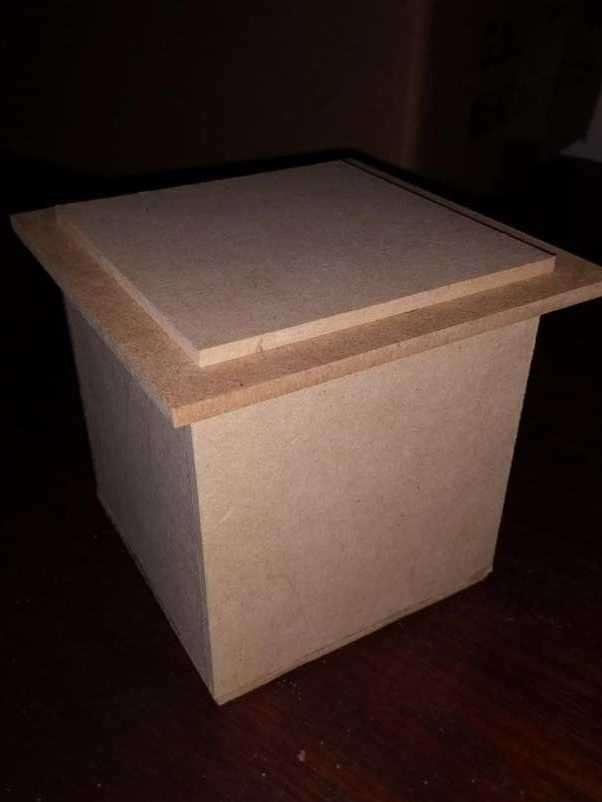 Cajitas de madera fibro fácil - 2