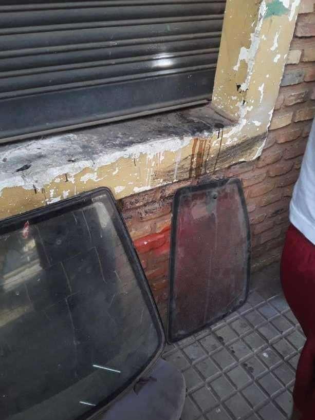 Parabrisas trasero y vidrios de puerta Daewoo Racer - 1