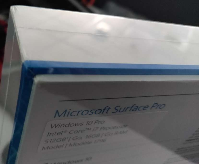 Notebook Surface pro 5 - 3