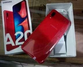 Samsung Galaxy A20s Dúos de 64 gb rojo