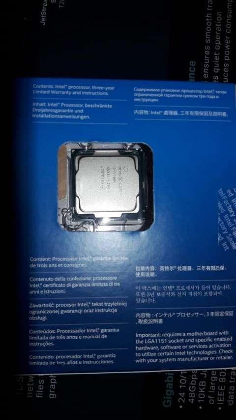 Procesador Intel Core I7 - 0
