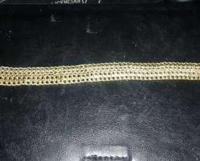 Pulsera de oro de 19.8 gramos