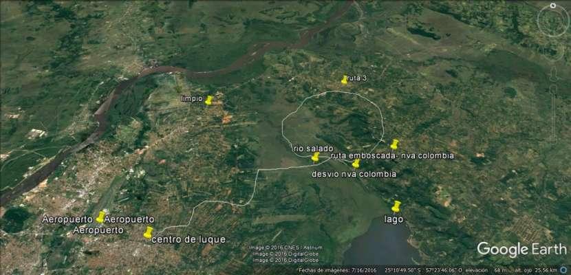 Terreno zona ruta luque san bernardino - 1