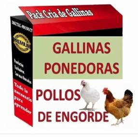 Manual digital crianza de pollos de engorde y gallinas