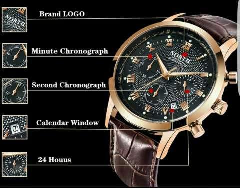 Reloj North con cronógrafo militar - 5