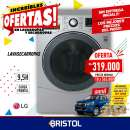 Lava secarropas LG 9,5 kg - 0