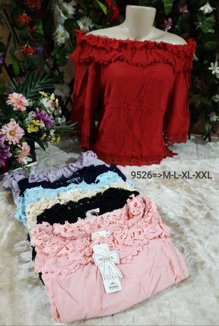 Blusas para damas y remeras para caballeros - 5