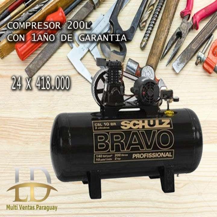 Compresor 200 litros - 0