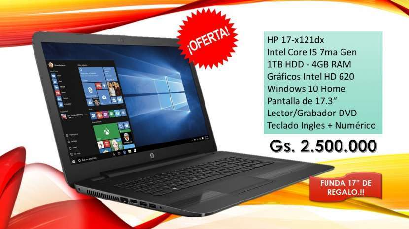Notebook HP 17-x121dx - 0